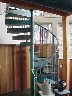 Spiral Stairs leading to secret room