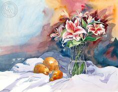 Sid Bingham California Watercolor - Oranges – California Watercolor