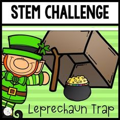 March STEM Challenge  is a fun and engaging way to teach science, technology, engineering, and math skills. Students learn to think critically and design their own leprechaun traps using what they know about simple machines collaboratively. This March-themed activity provide students opportunities to think creatively and critically by giving specific criteria for solving a problem.Who is this Product For?