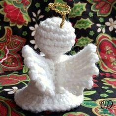 Wings - Little Crochet Angel - Oombawka Design