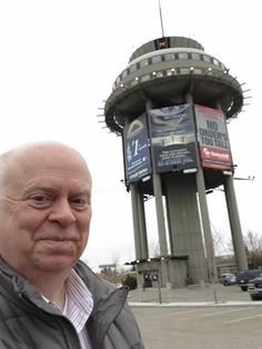 Lethbridge, AB, Canada.Have dinner in a water tower.