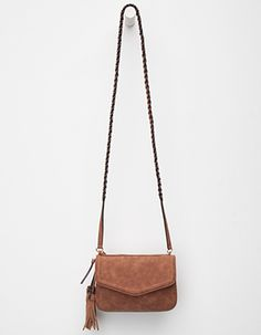 VIOLET RAY Anette Crossbody Bag Brown