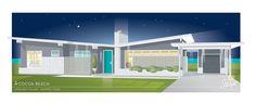 Starlight Village - Mid-Century Modern architecture with 21st century floor plans and amenities