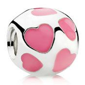 Bruce, this is the next bead i want for my bracelet pleeeeeease ~ Pandora enamel love bead now in pink...