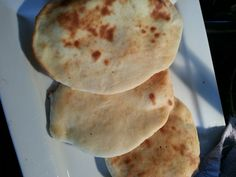 Naan bread, I made yesterday for supper along with butter chicken. Easy recipe found on www.allrecipes.com