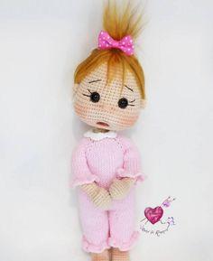 Amigurumi Innocent Doll Making - Amigurumi - Oyuncak / Toys Crochet Doll Pattern, Crochet Dolls, Crochet Baby, Free Crochet, Crochet Patterns, Sewing Toys, Sewing Crafts, Amigurumi For Beginners, Baby Knitting Patterns