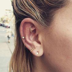Cassi Lopez #piercings #earpiercings: