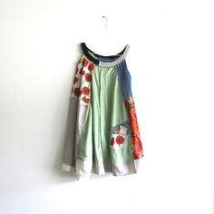 romantic Upcycled clothing / Patchwork Dress / Funky by CreoleSha, $92.00
