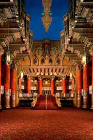 They don't call it fabulous for nothing. The Fox Theatre is steps away from SLU.