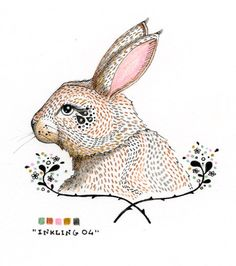 Inkling 004  Original Illustration by LilyMoon on Etsy