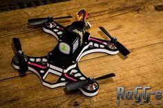 RaGG-e 200H frame, ready to go. #drones #dronesuk