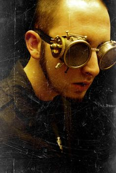 Who? unknown What? Custom Made SteamPunk Goggles by PanzerKitty