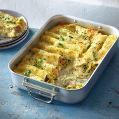 Ham and leek stuffed cannelloni Recipe WW Germany - Now cook cannelloni with ham and leek filling in 30 and discover numerous other Weight Watchers rec - Fast Food Breakfast, Weight Watchers Breakfast, Breakfast Bowls, Breakfast Recipes, Healthy Muffin Recipes, Clean Eating Recipes, Low Carb Recipes, Plats Weight Watchers, Weight Watchers Meals