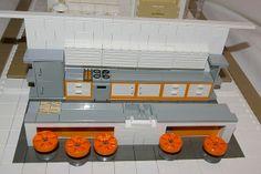 2007 - lego kitchen, double decker house Lego Kitchen, Lego Building, Building Ideas, Lego Furniture, Lego Sculptures, Lego Castle, Lego House, Lego Creations, Kitchen Interior