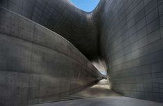 Dongdaemun Design Plaza Cultural Complex by Zaha Hadid just opened