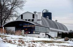 Roxbury Barn Conversion-01-1 Kind Design  Worth a look at the link- the conversion work/design fantastic.