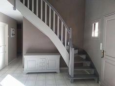 Escalier relooking sur pinterest escalier r novation - Repeindre un escalier en bois ...