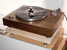 This guy makes custom Turntable from old ones