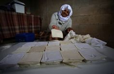 83 year old making cheese in Nablus, occupied Palestine