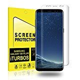 #10: Galaxy S8 Plus Screen Protector [2-Pack] iTURBOS Full Screen Coverage 3D PET HD Screen Protector Film for Samsung Galaxy S8 Plus