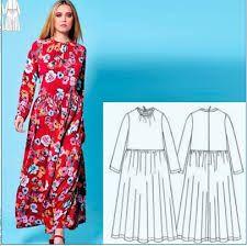 Image result for крой крестьянское платье