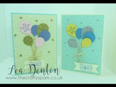 2 Super Simple Speedy Cards - Baby Boys and Baby Girls - YouTube