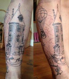 Moomin tattoos <3 <3 Awesome idea!
