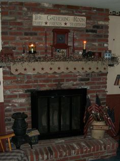 My fireplace