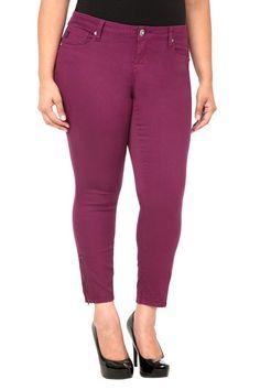 Torrid Denim - Raspberry Ankle Zip Stiletto Jeans | Shop All Clearance