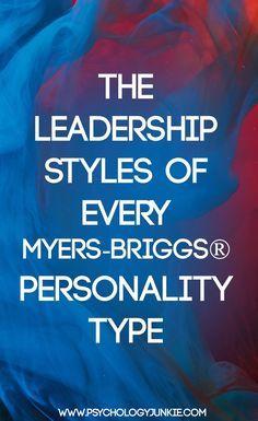 #leadershipstyles #MBTI