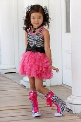 Ooh! La, La! Couture WOW Zebra Dream Dress