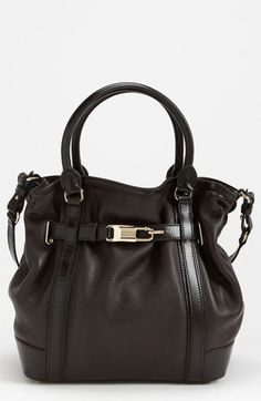 Burberry Leather Tote available at #Nordstrom