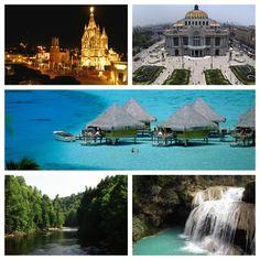 My beautiful Mexico!!! San Miguel de Allende, Mexico city, Riviera Maya, Estado de Mexico, Chiapas