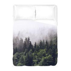 Misty Forest | Duvet Cover | WallsNeedLove