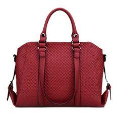 Coowa 2016 New design popular women messenger bag Leather Bag Brand fashion Women Handbag woven pattern bags Bolsas Women bag