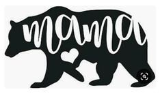 Details about Mama Bear Decal Sticker Mom Decal Best Gift Car ALL DECALS BUY 2 GET 1 FREE - Laptop - Ideas of Laptop - Mama Bear decal sticker wall car window phone laptop mom mother wildlife 50001 Vinyl Wall Stickers, Vinyl Art, Bumper Stickers, Vinyl Car Decals, Cute Car Decals, Car Window Decals, Stickers For Cars, Vehicle Decals, Phone Decals