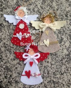Burlap Christmas Angel, Holiday Christmas Tree Ornament, Gift for Him, Rustic Home Decor, Gift for a Couple Diy Christmas Angel Ornaments, Felt Christmas Decorations, Burlap Christmas, Christmas Sewing, Christmas Crafts For Kids, Felt Ornaments, Christmas Angels, Christmas Art, Felt Crafts