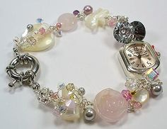 Very pretty watch and you can use all sorts of beads from a collection...