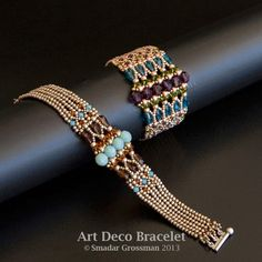 Smadar's Treasure: Beadwork Magazine Designer of the Year Projects