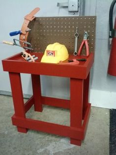 Toy Workbench | Do It Yourself Home Projects from Ana White