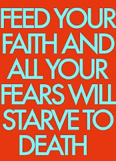 Faith is the opposite of fear. Feed your faith in Jesus Christ and fear of man, death, lack, etc. will automatically decreases.
