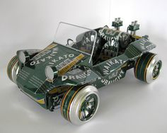 Intricate Can Cars 5