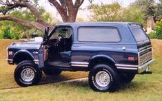 1972 Chevy Blazer