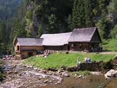 """Mlyny v Oblazoch (Water-mills in """"Oblazy"""") year 2006. Recreational hike through """"Kvačianska valley"""" will lead you into this charming place where as if the time has stopped. There are water mills and museum devoting to them and also goats :D"""