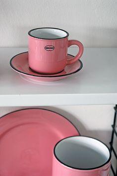 Espresso Cup   ceramic enamel-look   cinnamon pink  #cabanaz #capventure #dutchdesign #product #enamellook