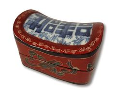 Vintage/Antique chinese/oriental Jewelry Box/trinket box/asian jewelry box/ jewelry case