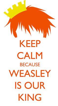 Perchè Weasley è il nostro Re, ogni due ne para tre... Because Weasley is our king...