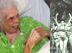 A 102-Year-Old Woman Watches Her Old Dancing Videos for the First Time?See Her Sweet Reaction!