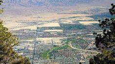 Palm Springs, an aerial view - California, USA