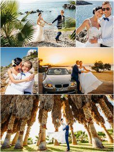 Palm Garden ceremony followed by catered reception at a Tersanas villa Palm Garden, Crete, Real Weddings, Wedding Planner, Reception, Villa, Random, Image, Wedding Planer